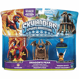 Skylanders: Dragon's Peak Adventure Pack Toys and Gadgets