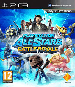 PlayStation All-Stars Battle Royale PlayStation 3 Cover Art