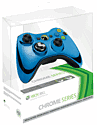 Xbox 360 Wireless Chrome Blue Controller Accessories