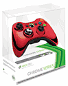 Xbox 360 Wireless Chrome Red Controller Accessories