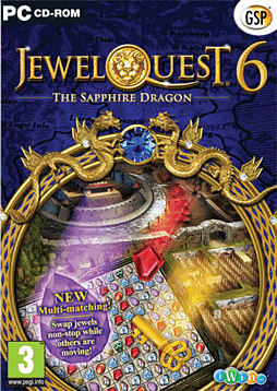 Jewel Quest 6 - The Sapphire Dragon PC Games Cover Art