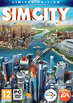 SimCity - Limited Edition PC Games Cover Art