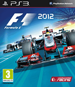 PS3 F1 2012 Playstation 3 Cover Art