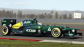 PS3 F1 2012 screen shot 1