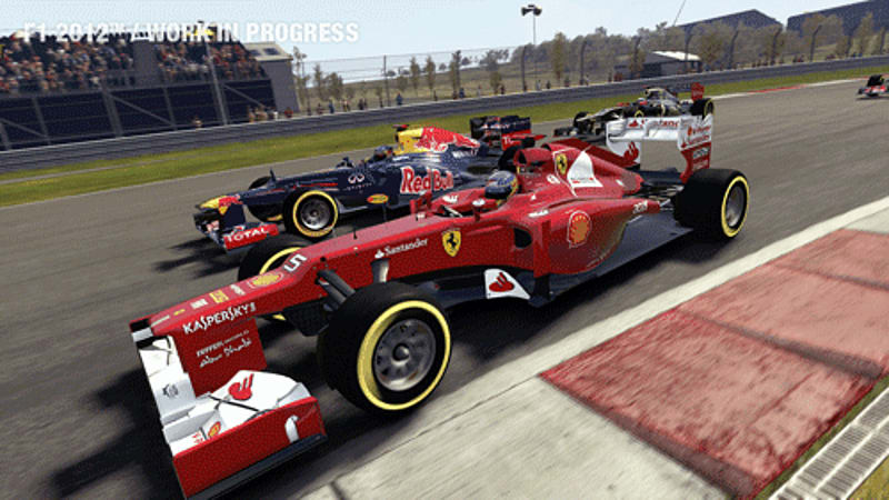 Grand Prix Season Challenge in F1 2012 on PS3 and Xbox 360 at GAME