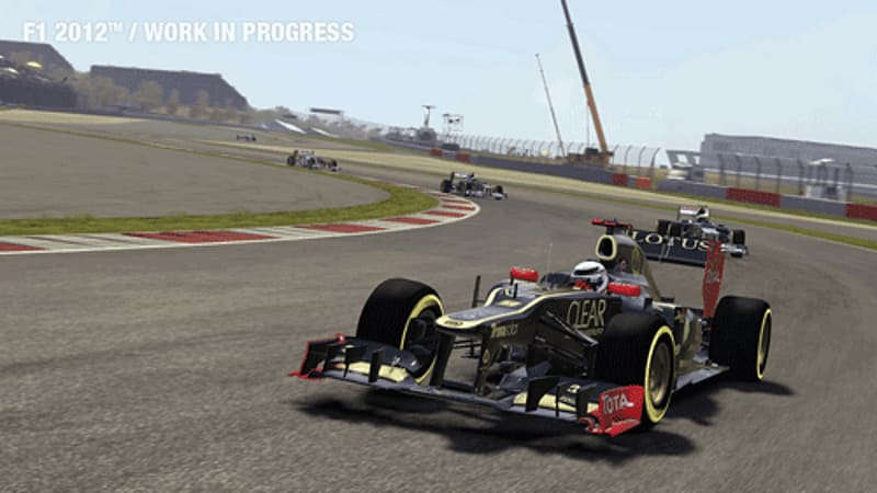 Young driver test in Formula 1 2012 on Xbox 360 and PlayStation 3 at GAME
