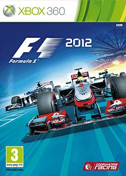 F1 2012 Xbox 360 Cover Art