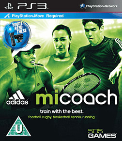 Adidas miCoach PlayStation 3 Cover Art