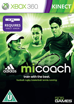 Adidas miCoach Xbox 360 Kinect Cover Art