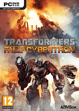 Transformers: Fall of Cybertron PC Games Cover Art