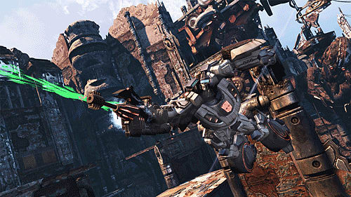 Online co-op action in TransFormers: Fall of Cybertron on PS3, PC and Xbox360
