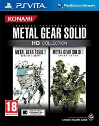 Metal Gear Solid HD Collection PS Vita Cover Art
