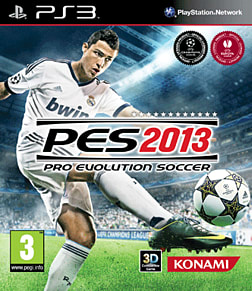 Pro Evolution Soccer 2013 Playstation 3 Cover Art