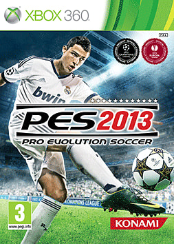 Pro Evolution Soccer 2013 Xbox 360 Cover Art