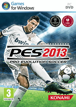 Pro Evolution Soccer 2013 PC Games Cover Art