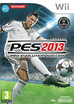 Pro Evolution Soccer 2013 Wii Cover Art