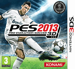 Pro Evolution Soccer 2013 3DS Cover Art