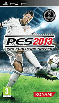 Pro Evolution Soccer 2013 PSP Cover Art