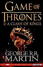 Game of Thrones - Book 2: A Clash of Kings Strategy Guides and Books