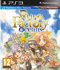 Rune Factory Oceans PlayStation 3 Cover Art