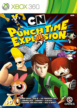 Cartoon Network: Punch Time Explosion XL Xbox 360 Cover Art