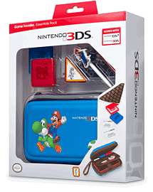 Mario Game Traveller Essential Pack Accessories