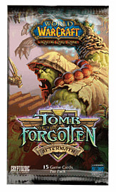 World of Warcraft Trading Card Game Tomb of the Forgotten Booster Pack Toys and Gadgets