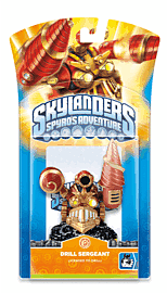 Skylanders: Character - Drill Sergeant Toys and Gadgets