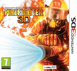 Real Heroes: Firefighter 3D 3DS Cover Art