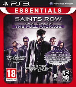Saints Row The Third: The Full Package PlayStation 3 Cover Art