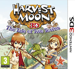 Harvest Moon: Tale of Two Towns 3DS Cover Art