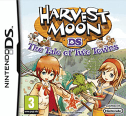 Harvest Moon: Tale of Two Towns DSi and DS Lite Cover Art
