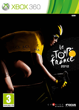 Tour De France 2012 Xbox 360 Cover Art