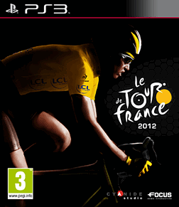 Tour De France 2012 Playstation 3 Cover Art