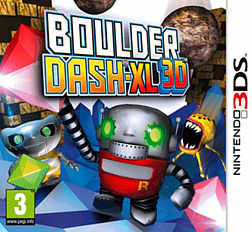 Boulder Dash-XL 3D 3DS
