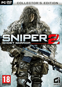 Sniper: Ghost Warrior 2 Collectors Edition - GAME Exclusive PC Games Cover Art
