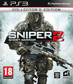 Sniper: Ghost Warrior 2 Collectors Edition - GAME Exclusive PlayStation 3 Cover Art