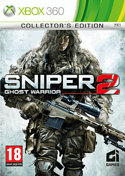 Sniper: Ghost Warrior 2 Collectors Edition - GAME Exclusive Xbox 360 Cover Art