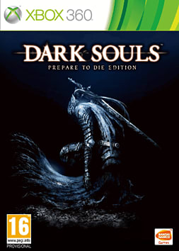Dark Souls: Prepare to Die Edition Xbox 360 Cover Art