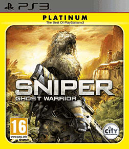 Sniper Ghost Warrior Platinum Edition PlayStation 3 Cover Art