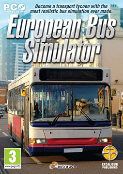 European Bus Simulator PC Games Cover Art
