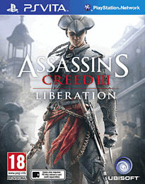 Assassins Creed III: Liberation PS Vita Cover Art
