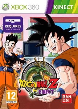 Dragon Ball Z for Kinect Xbox 360 Kinect Cover Art