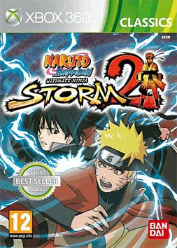 Naruto Shippuden Ultimate Ninja Storm 2 - Classics Xbox 360 Cover Art