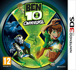 Ben 10 Omniverse 3DS Cover Art