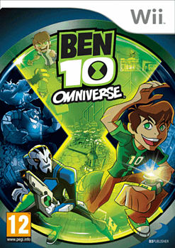 Ben 10 Omniverse Wii Cover Art
