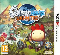 Scribblenauts Unlimited 3DS Cover Art