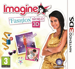 Imagine Fashion World 3D 3DS Cover Art