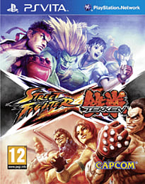 Street Fighter X Tekken PS Vita Cover Art