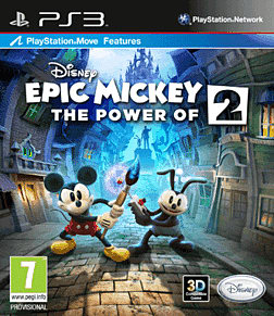 Disney Epic Mickey 2: The Power of Two PlayStation 3 Cover Art